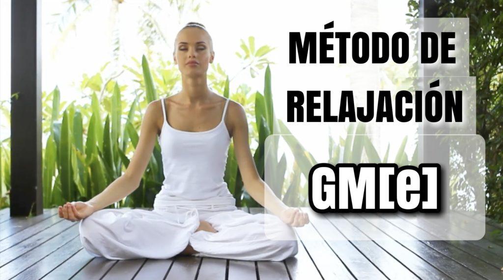 GUILLERMO MORANTE - METODO DE RELAJACION GM(E)