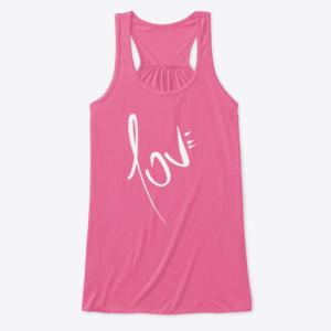 Camiseta LOVE de Guillermo Morante