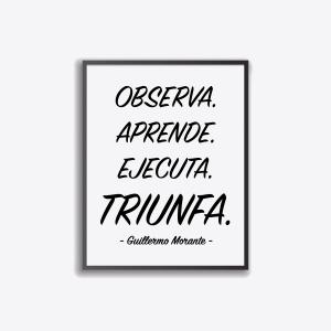Cuadro Triunfa de Guillermo Morante