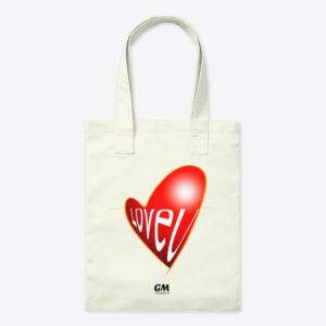 Tote Bag LOVE U de Guillermo Morante