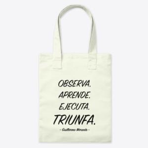 Tote Bag Triunfa de Guillermo Morante