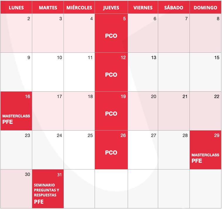 Calendario Noviembre - instituto Guillermo Morante