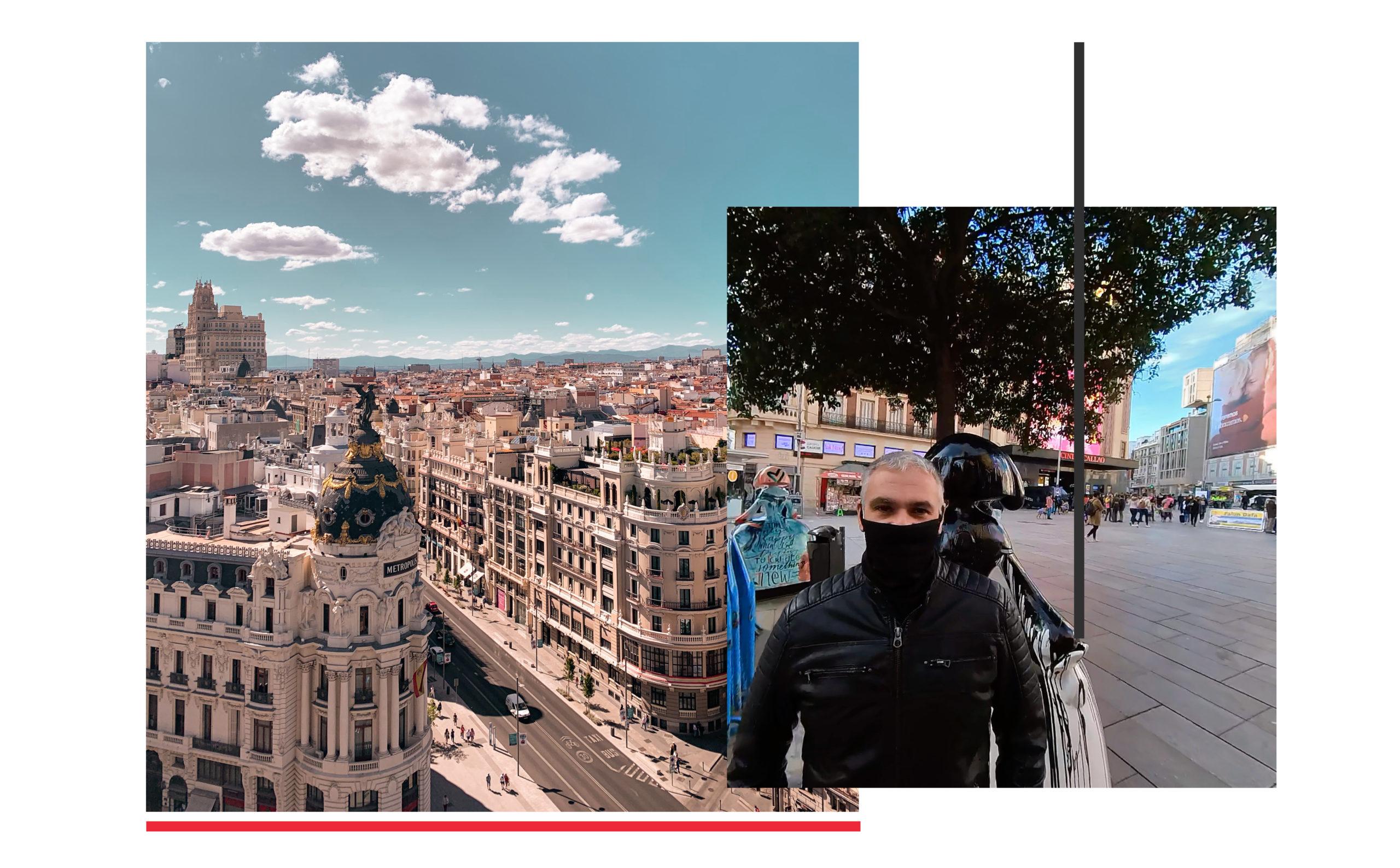 Turismo Madrid. Qué ver en Madrid. Plaza de Callao hasta la Plaza de Oriente Plaza de Callao Guillermo Morante