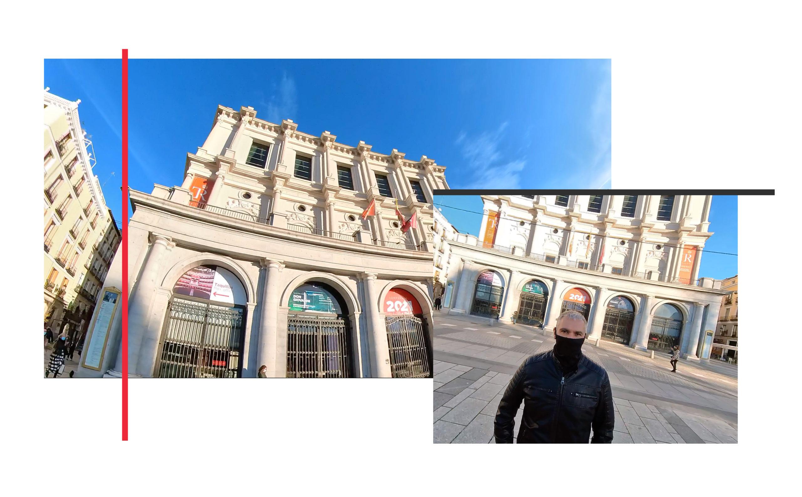 Turismo Madrid. Qué ver en Madrid. Plaza de Callao hasta la Plaza de Oriente Teatro Real Guillermo Morante