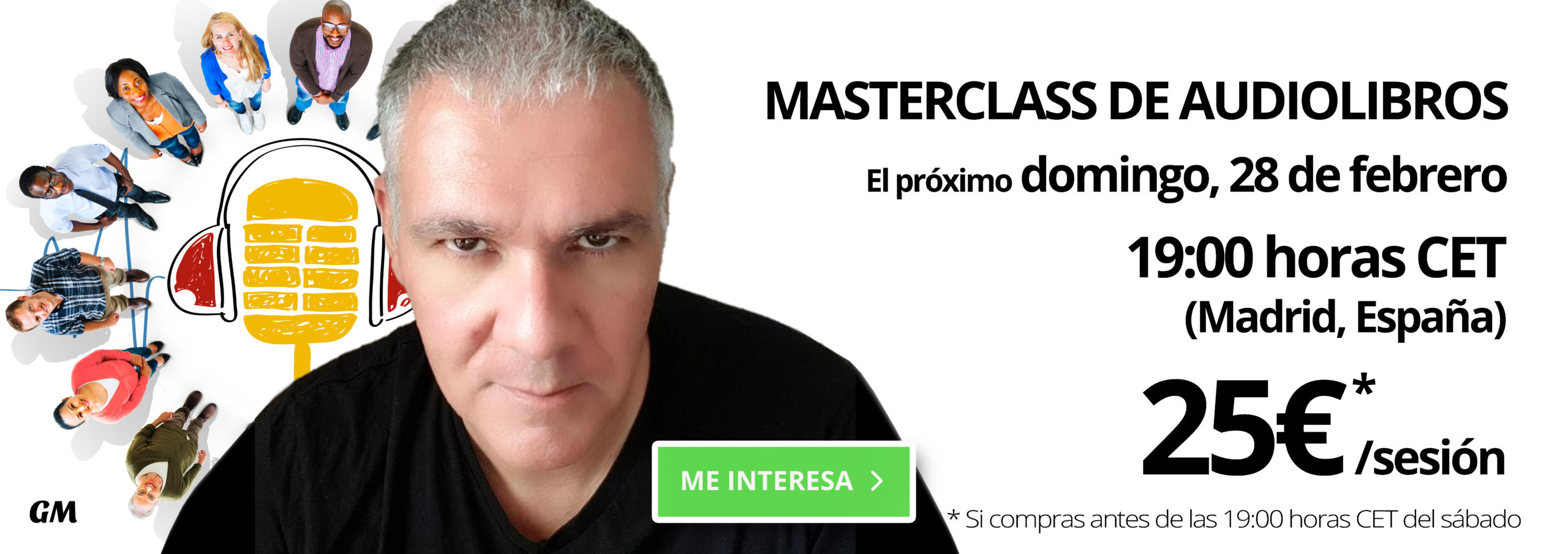 Promoción MASTERCLASSS Guillermo Morante