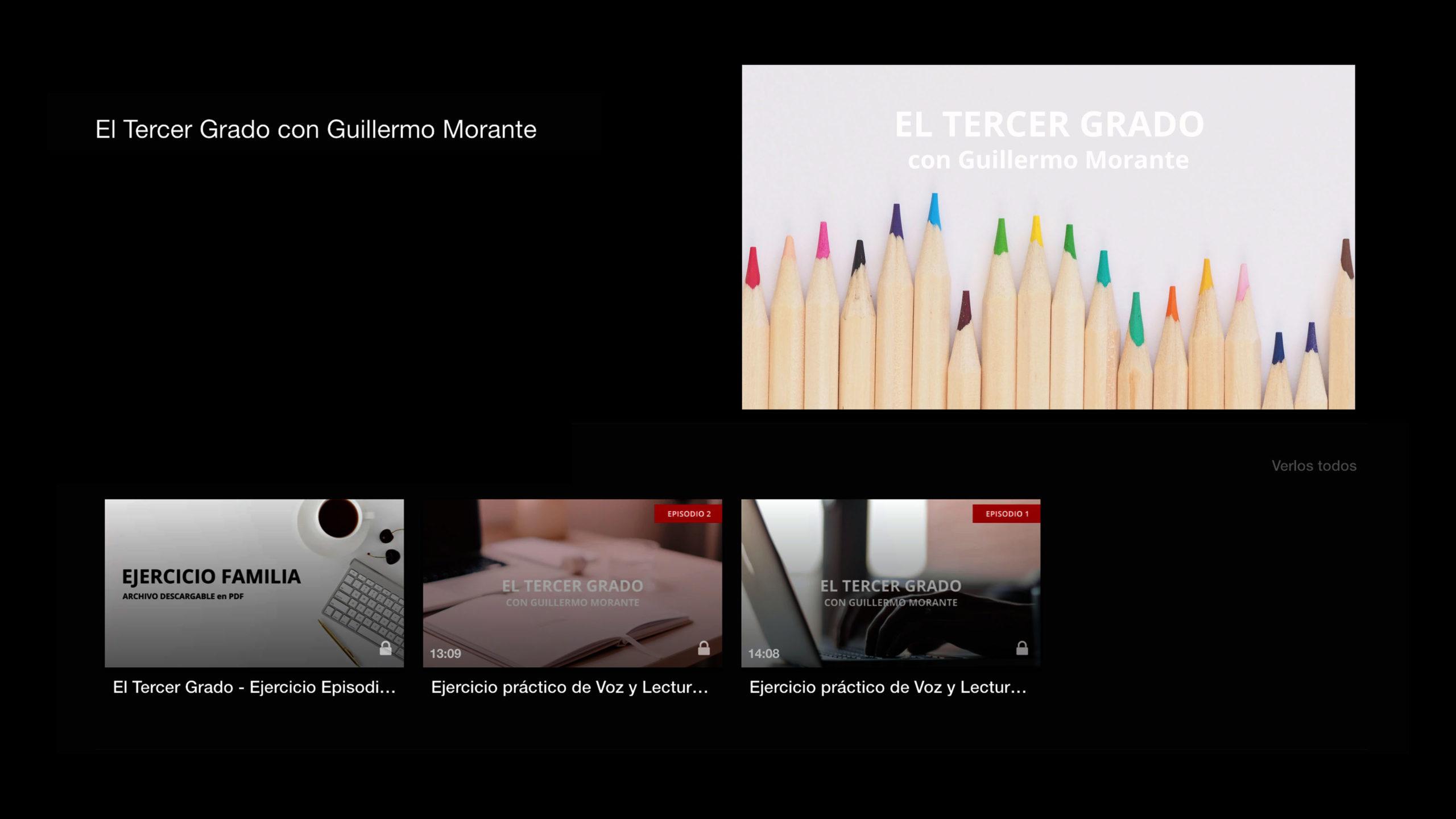 GUILLERMO MORANTE TV EL TERCER GRADO