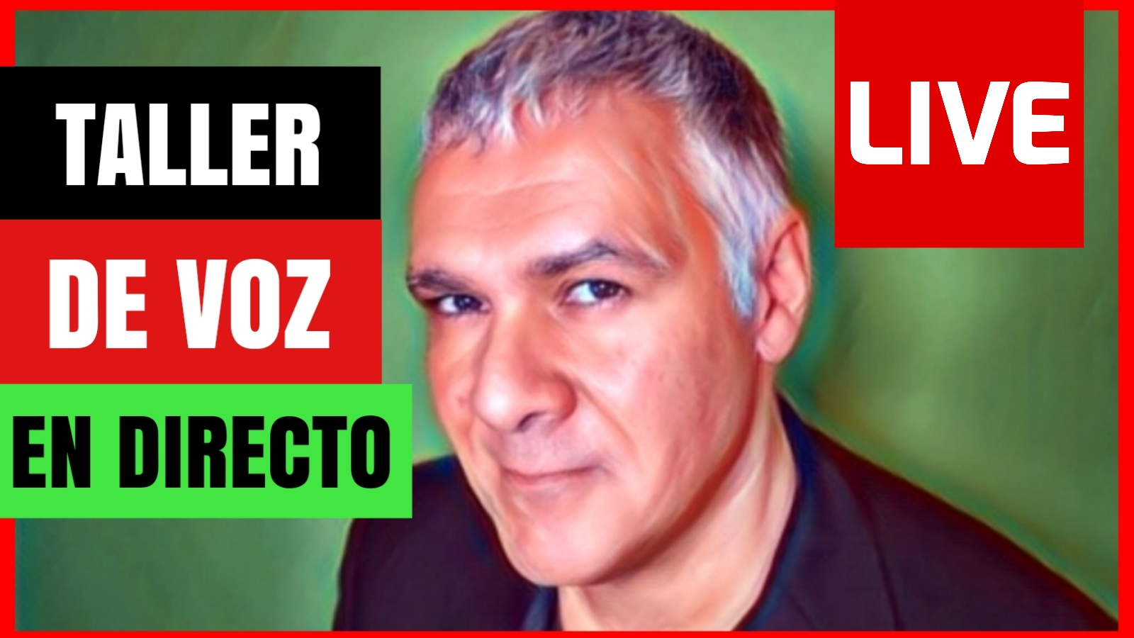 TALLER DE VOZ EN DIRECTO – LOCUTOR PROFESIONAL GUILLERMO MORANTE